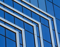 αφηρημένο μπλε χρώμιο Στοκ Εικόνες