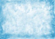 αφηρημένο μπλε ανασκόπησης που γίνεται το μόνο watercolor Στοκ φωτογραφίες με δικαίωμα ελεύθερης χρήσης