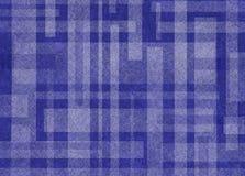 Αφηρημένο μπλε και άσπρο υπόβαθρο με το σχέδιο μορφής ορθογωνίων Στοκ Εικόνα