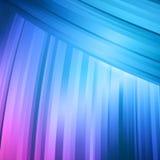 Αφηρημένο μπλε και ρόδινο κάμπτοντας αφηρημένο υπόβαθρο γραμμών διανυσματική απεικόνιση