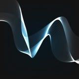 Αφηρημένο μπλε πρότυπο σχεδίου υποβάθρου Στοκ Φωτογραφίες