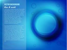 Αφηρημένο μπλε υπόβαθρο Στοκ εικόνες με δικαίωμα ελεύθερης χρήσης