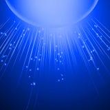 Αφηρημένο μπλε υπόβαθρο γραμμών Στοκ φωτογραφία με δικαίωμα ελεύθερης χρήσης