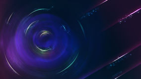 Αφηρημένο μπλε υπόβαθρο θέματος sci-Fi, αναλογία 16:9 Στοκ εικόνες με δικαίωμα ελεύθερης χρήσης