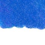 Αφηρημένο μπλε υπόβαθρο κραγιονιών κρητιδογραφιών Στοκ Εικόνα