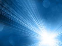 Μπλε αφηρημένο υπόβαθρο Στοκ Εικόνες