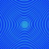 Αφηρημένο μπλε υπόβαθρο μωσαϊκών σκιών Στοκ Εικόνες