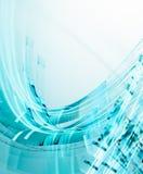 αφηρημένο μπλε φως ανασκόπ Στοκ Εικόνες