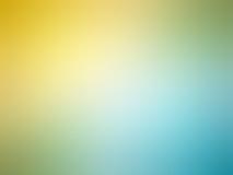 Αφηρημένο μπλε χρωματισμένο θολωμένο υπόβαθρο κιρκιριών κλίσης κίτρινο Στοκ εικόνα με δικαίωμα ελεύθερης χρήσης