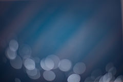 αφηρημένο μπλε bokeh ανασκόπησ&et Στοκ Εικόνες