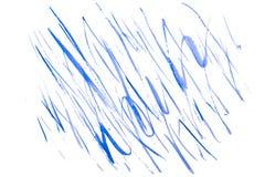 Αφηρημένο μπλε watercolor γραμμών Στοκ φωτογραφίες με δικαίωμα ελεύθερης χρήσης