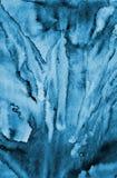 Αφηρημένο μπλε watercolor στη σύσταση εγγράφου ως υπόβαθρο Christm διανυσματική απεικόνιση