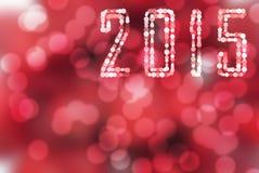 Αφηρημένο νέο σχέδιο έτους/Χριστούγεννα 2015 Στοκ Εικόνα