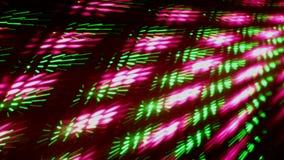 αφηρημένο νυχτερινό κέντρο διασκέδασης disco έννοιας φιλμ μικρού μήκους