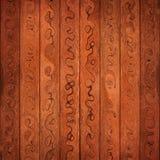 Αφηρημένο ξύλινο υπόβαθρο Στοκ Φωτογραφία
