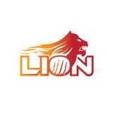 Αφηρημένο λογότυπο λιονταριών Στοκ εικόνα με δικαίωμα ελεύθερης χρήσης