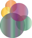 αφηρημένο λογότυπο Στοκ Εικόνες