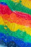 αφηρημένο ουράνιο τόξο ανασκόπησης Στοκ εικόνα με δικαίωμα ελεύθερης χρήσης