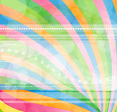 αφηρημένο ουράνιο τόξο ανα&s Στοκ φωτογραφία με δικαίωμα ελεύθερης χρήσης