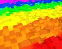 αφηρημένο ουράνιο τόξο ανα&s Διανυσματική απεικόνιση