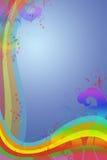 αφηρημένο ουράνιο τόξο ελεύθερη απεικόνιση δικαιώματος