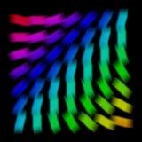αφηρημένο ουράνιο τόξο διανυσματική απεικόνιση