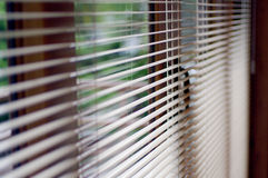 Αφηρημένο παράθυρο χώρων εργασίας και τυφλός Στοκ Φωτογραφία