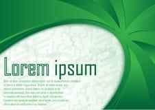 Αφηρημένο πιστοποιητικών πράσινο συνόρων σχεδιάγραμμα φύσης προτύπων δυναμικό απεικόνιση αποθεμάτων