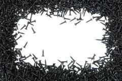 Αφηρημένο πλαίσιο από τις self-tapping βίδες Στοκ εικόνες με δικαίωμα ελεύθερης χρήσης