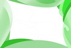 αφηρημένο πλαίσιο πράσινο απεικόνιση αποθεμάτων