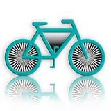 αφηρημένο ποδήλατο Στοκ εικόνες με δικαίωμα ελεύθερης χρήσης