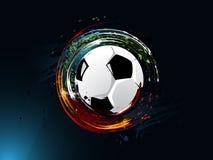 αφηρημένο ποδόσφαιρο ανα&sigm απεικόνιση αποθεμάτων