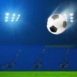 αφηρημένο ποδόσφαιρο ποδοσφαίρου ανασκοπήσεων Στοκ φωτογραφίες με δικαίωμα ελεύθερης χρήσης