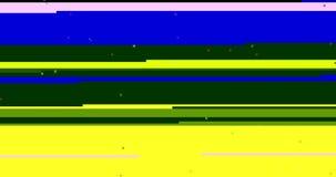 Αφηρημένο πολυ τρεμούλιασμα δυσλειτουργίας οθόνης χρώματος ρεαλιστικό, αναλογικό εκλεκτής ποιότητας σήμα TV με την κακή παρέμβαση διανυσματική απεικόνιση