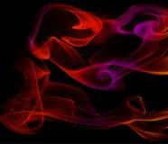 Αφηρημένο πολύχρωμο και μυστικό υπόβαθρο καπνού ελεύθερη απεικόνιση δικαιώματος