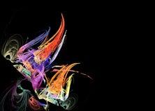 Αφηρημένο πολύχρωμο fractal σχέδιο Στοκ φωτογραφία με δικαίωμα ελεύθερης χρήσης