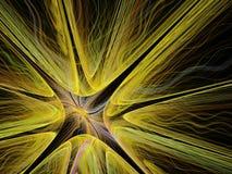 Αφηρημένο πολύχρωμο fractal σχέδιο Στοκ Εικόνα
