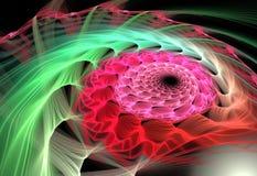 Αφηρημένο πολύχρωμο fractal σχέδιο Στοκ φωτογραφίες με δικαίωμα ελεύθερης χρήσης