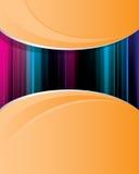 αφηρημένο πορτοκάλι ανασ&kap Διανυσματική απεικόνιση