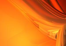 αφηρημένο πορτοκάλι ανασ&kap Στοκ Εικόνα