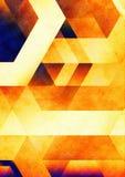 αφηρημένο πορτοκάλι διανυσματική απεικόνιση