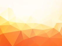 αφηρημένο πορτοκάλι ανασ&kap Στοκ φωτογραφία με δικαίωμα ελεύθερης χρήσης