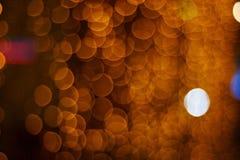 αφηρημένο πορτοκάλι ανασ&kap Στοκ Φωτογραφίες