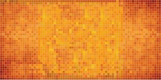 αφηρημένο πορτοκάλι μωσαϊκών ανασκόπησης ελεύθερη απεικόνιση δικαιώματος