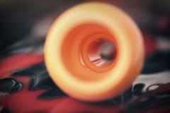 Αφηρημένο πορτοκαλί κραγιόνι Στοκ εικόνες με δικαίωμα ελεύθερης χρήσης