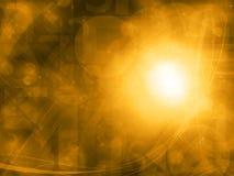 Αφηρημένο πορτοκαλί υπόβαθρο τεχνολογίας Στοκ φωτογραφία με δικαίωμα ελεύθερης χρήσης