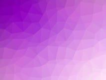 Αφηρημένο πορφυρό διαμορφωμένο πολύγωνο υπόβαθρο Στοκ Φωτογραφία