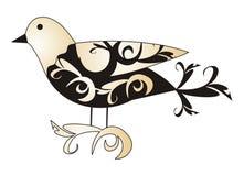 αφηρημένο πουλί Στοκ Εικόνες