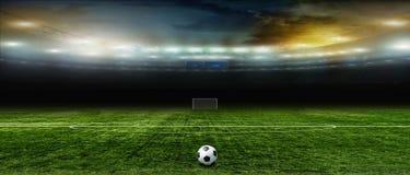 αφηρημένο ποδόσφαιρο ποδοσφαίρου ανασκοπήσεων Στοκ Εικόνες