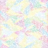 Αφηρημένο πολύγωνο ταπετσαριών χρώματος Γεωμετρική ανασκόπηση τριγώνων Στοκ Εικόνα
